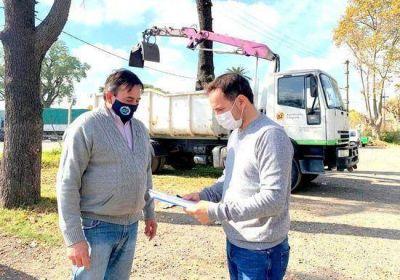 El Municipio sumó un nuevo vehículo para la recolección de ramas y montículos