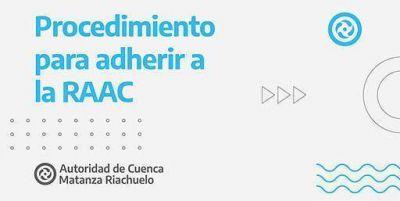 Instituciones de la Cuenca Matanza Riachuelo pueden formar parte de la RAAC