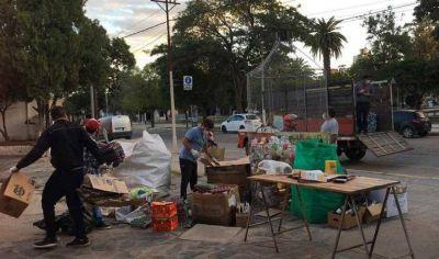El ecopunto de reciclaje de Frías se trasladará a la plaza 9 de Julio