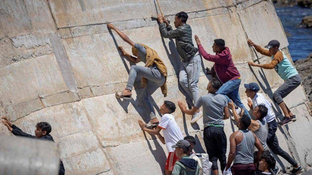 Crisis migratoria en Ceuta: