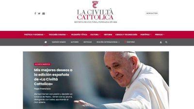 La Civiltà Cattolica, el Papa: más que una revista, una experiencia espiritual