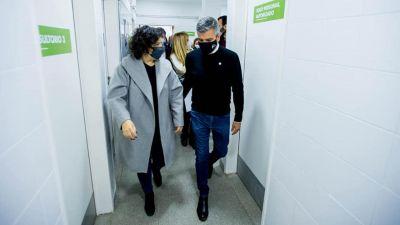 Vizzotti y Zabaleta reinauguraron un Centro de Salud en William Morris