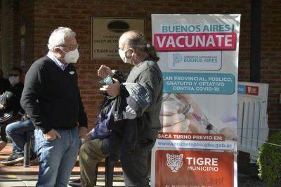 """Zamora: """"Estamos próximos a abrir un nuevo centro de vacunación en Troncos del Talar»"""