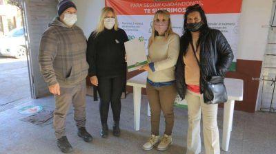 Esteban Echeverría: El Municipio entregó subsidios a entidades