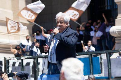 Piumato reactiva las protestas por el primer tramo de la pauta salarial 2021