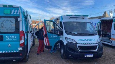 Cardozo sumó al sistema de salud del Partido de La Costa nuevas ambulancias de alta complejidad equipadas con UTI móvil