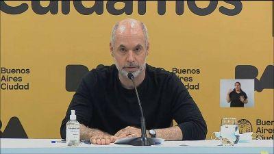 Larreta se pliega al cierre total de Alberto: suspenden las clases y se recuperan los días en diciembre