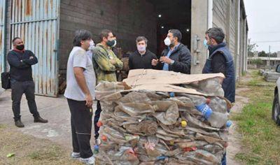 Comenzará a funcionar la prensa de residuos sólidos en la ciudad de Frías