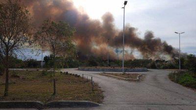 Humedales: denuncian incendios en la reserva provincial Santa Catalina de Lomas de Zamora