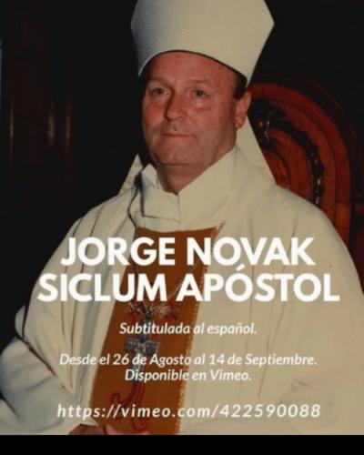 Documental sobre Jorge Novak participará de un festival internacional de arte
