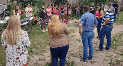 Zdero se reunió con vecinos de San Martín y dialogó con diferentes sectores