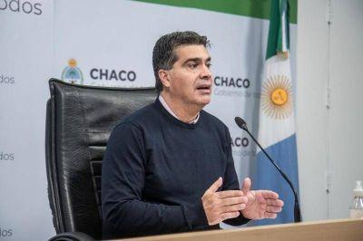 Capitanich propone institucionalizar el Frente de Todos y atender la deuda interna