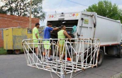 Atención Frentistas: Prestar atención al cronograma de recolección de residuos por el feriado del 24 y 25 de mayo