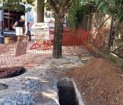 El Municipio de Tigre avanza con la construcción de una nueva red de gas en General Pacheco