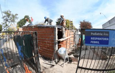 Avanzan las obras de ampliación y mejoramiento del hospital Luján
