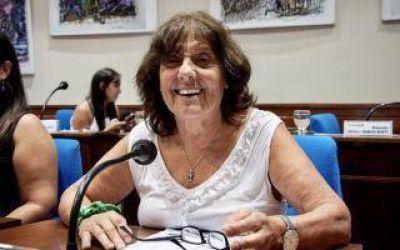 Dolor en el Concejo Deliberante de Avellaneda: Murió la edil Hilda Cabrera