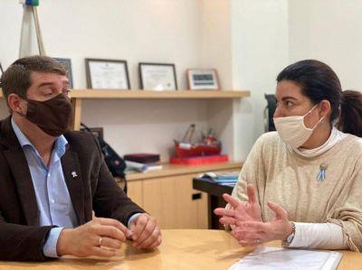 """Romero se reunió con Biss: """"Coincidimos en la importancia de alcanzar consensos para combatir la pandemia"""""""