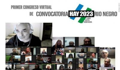 """Convocatoria Rio Negro Hay 2023"" hizo su congreso virtual"