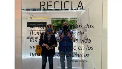 Sintac y GCR Group, entidades colaboradoras en la creación y reciclaje de The Plastic Museum