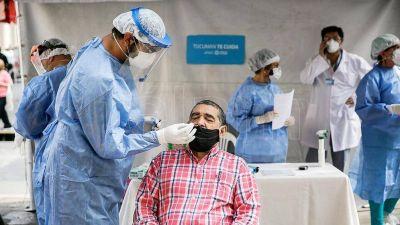 Murieron 576 personas por coronavirus y se registraron 24.601 nuevos contagios