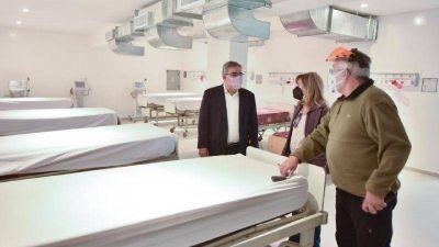 COVID 19: El gobierno abre convocatoria para personal de salud y suma camas al Malbrán