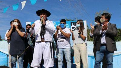 El Partido Justicialista presentó sus candidatos en El Piquete