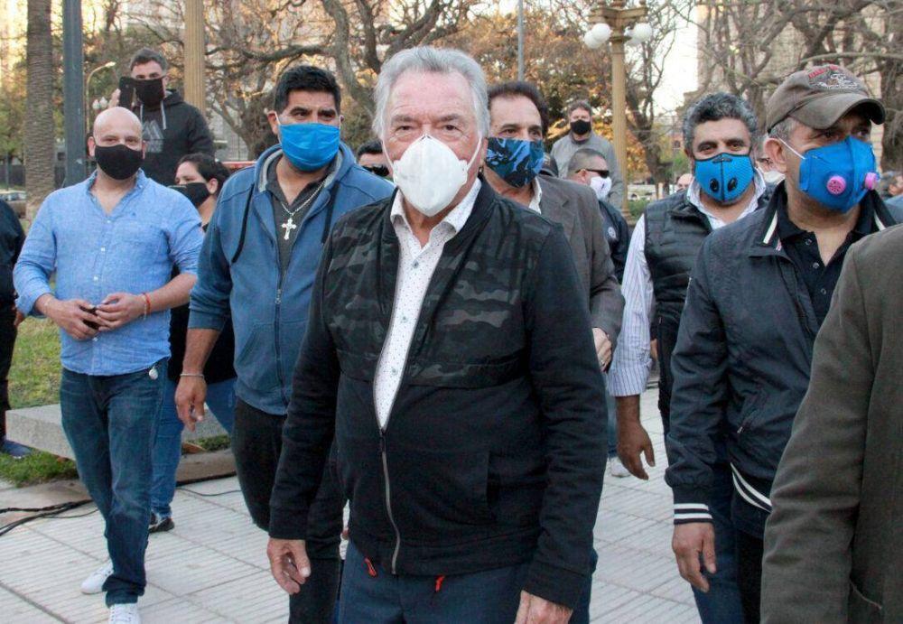 """Barrionuevo: Desde que arrancó la Pandemia """"sostenemos a los trabajadores con los ahorros del gremio"""""""