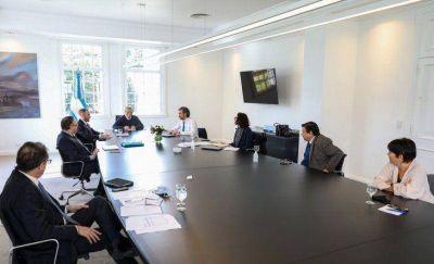 Alberto Fernández encabeza este jueves la reunión del gabinete económico