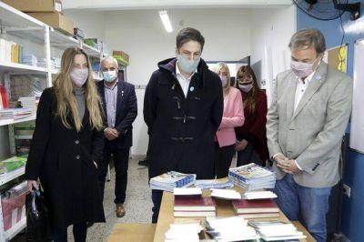 Inauguran las obras de la nueva Escuela N°2 a menos de un año de su incendio