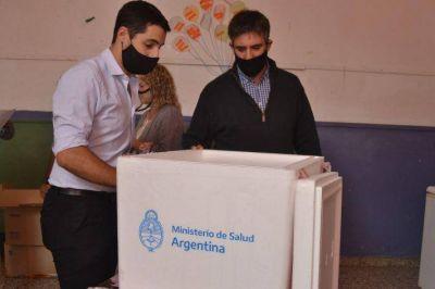 Gral. Alvarado: con 12.400 dosis aplicadas ahora esperan la llegada de más vacunas contra el coronavirus