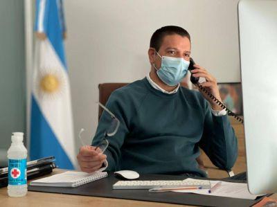 Cardozo confirmó La Costa recibirá más dosis para sostener el intenso ritmo de vacunación contra el COVID19