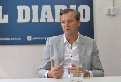 El intendente Adán Bahl lamentó la muerte de Sergio Varisco