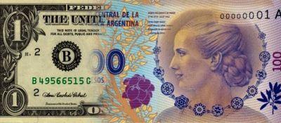 Llega el Dólar Evita: sin contar los impuestos, el oficial alcanza $ 100, una cifra histórica