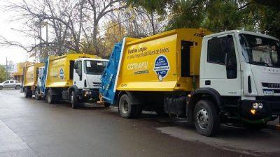 Se licitó el servicio de recolección de residuos de Viedma y volverán los contenedores plásticos