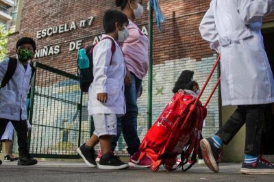 Clases en Ciudad de Buenos Aires: el Gobierno porteño impulsa el regreso a la presencialidad de jardín y primaria
