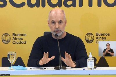 Horacio Rodríguez Larreta anunció que volverán las clases presenciales