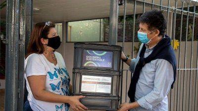 Más de 5.000 vecinos de San Isidro se inscribieron al programa de compostaje a domicilio