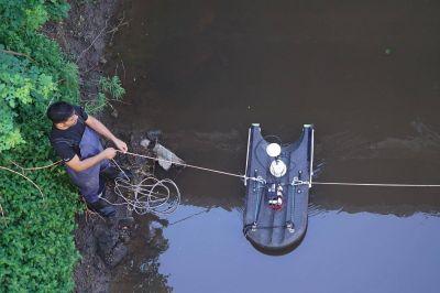 Acumar estudia el agua en los arroyos de la región
