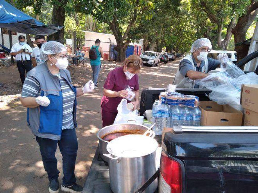 COVID-19: Pastoral Social cubre recetas y alimentos para familiares y en 15 días instalarán farmacia social en Seminario