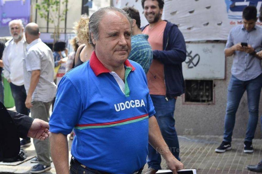 """UDOCBA: Dolor tras el fallecimiento de su Secretario General, Miguel Ángel Díaz, """"se fue un incansable luchador"""""""