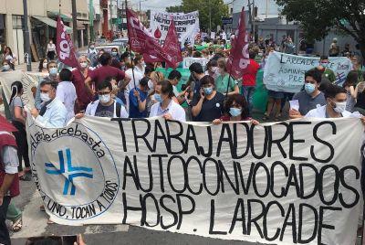 Cierra el Hospital Larcade de San Miguel en el pico de la pandemia tras la renuncia masiva de 51 profesionales