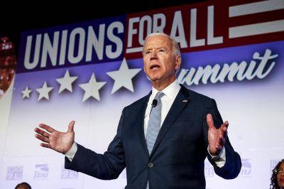 Joe Biden y sindicalismo, una luna de miel en la Casa Blanca