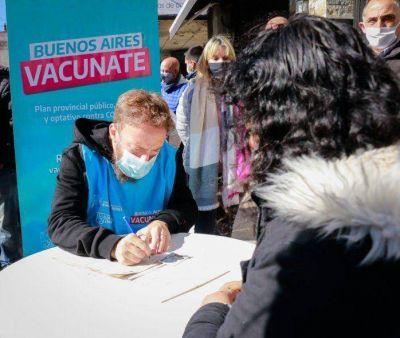 Coronavirus: Llaman a inscribirse en el plan de vacunación