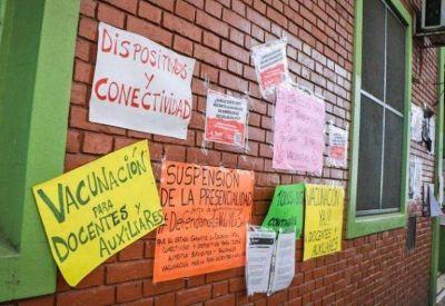 Docentes porteños vuelven a los paros este lunes en la Ciudad contra la presencialidad y en reclamo de clases «virtuales y vacunación»