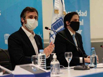 Trotta anunció que el próximo año podría comenzar a funcionar la Universidad de Pilar