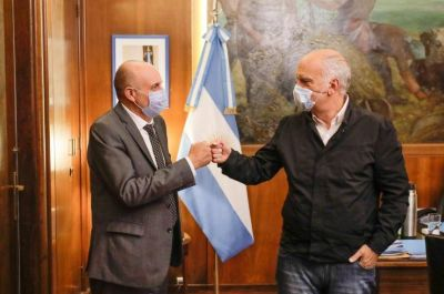 Grindetti y Guerrera analizaron las obras de transporte para Lanús