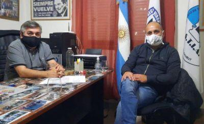 Cáceres se reunió con Luis Núñez para conversar sobre el polémico convenio de capacitación laboral entre el STIA y la Municipalidad de Trelew