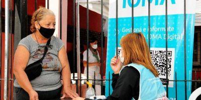 IOMA y gremios bonaerenses realizaron un balance de la campaña de vacunación contra el coronavirus