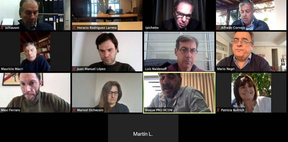 Reunión de Juntos por el Cambio: nuevo palazo de Mauricio Macri y cruce Horacio Rodríguez Larreta vs. Patricia Bullrich