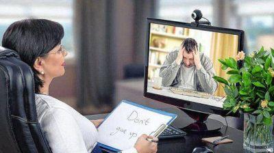 Psicoterapia virtual: muchas obras sociales no la reconocen